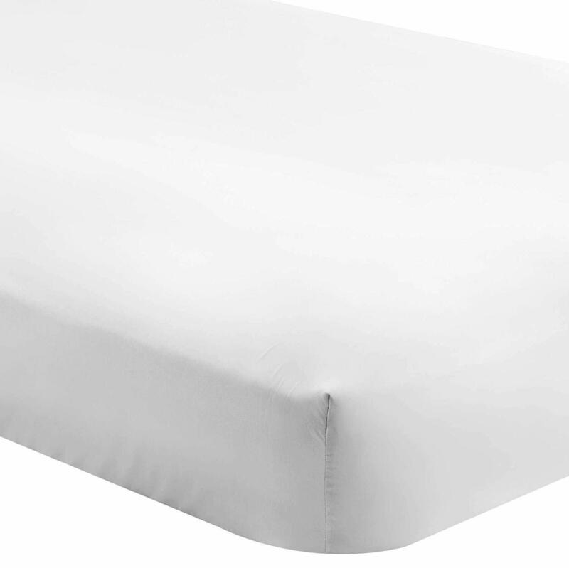 Bare Home Fitted Bottom Sheet Twin - Premium 1800 Ultra-Soft