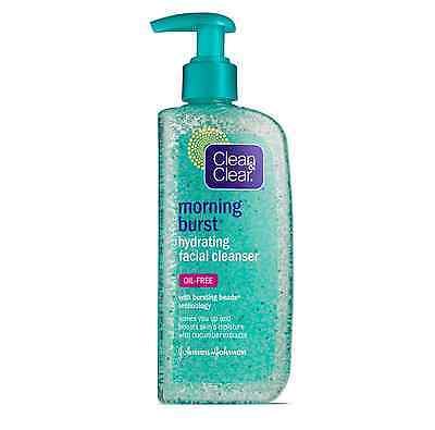 - CLEAN - CLEAR Morning Burst Oil-Free Hydrating Facial Cleanser, 8 oz (Pack of 6)