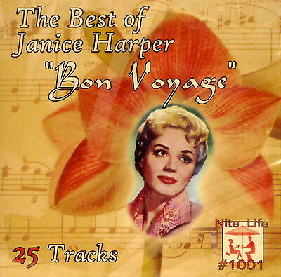 THE BEST OF JANICE HARPER 'Bon Voyage' - 25 (The Best Of Voyage)