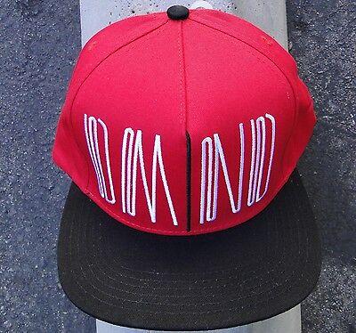 f23004898d3 Skateboard Uktred Red Black Mens hat Snapback