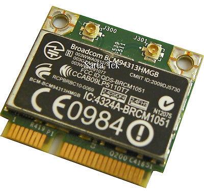 Hp 600370 001 Broadcom Bcm94313hmgb 802 11B G N Bluetooth Pcie Half
