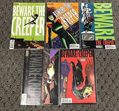 (BEWARE THE CREEPER (2003) #1 2 3 4 5 1-5 SET DC VERTIGO NM-)