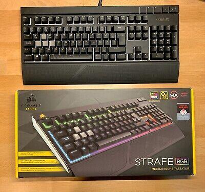 Corsair Strafe RGB - Mechanische Gaming Tastatur mit Cherry MX Red Switches