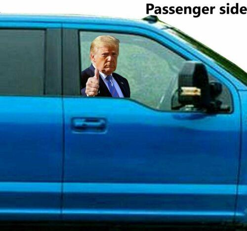 RIDE WITH PASSENGER TRUMP 2020 KEEP AMERICA GREAT DECAL STICKER USA CAR WINDOW