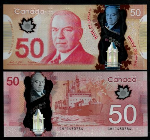CANADA - 2020 UNC - 50 DOLLARS - 2012 - NEW SIGNATURES: WILKINS & MACKLEM - GMF