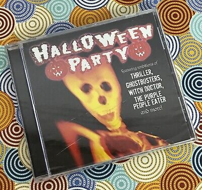 Halloween Party Music Thriller (Halloween Party SONGS Audio CD Scary Fall Carnival Dance Music Thriller P9-7)