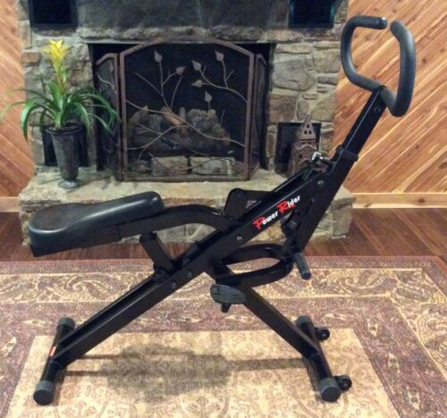 POWER RIDER CARDIO GLIDE BY GUTHY-RENKER TOTAL BODY FITNESS EXERCISE MACHINE