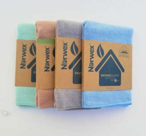 Norwex Microfiber Enviro Cloth, New, 4 different colors