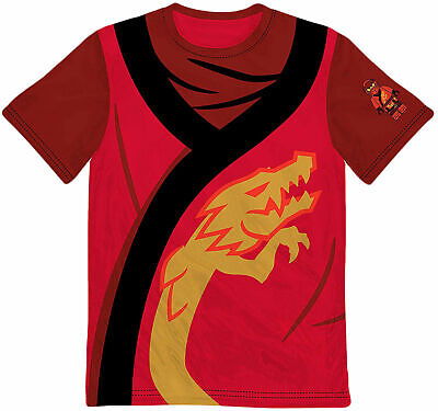 Kai Ninjago Halloween Costume (LEGO Kai Ninjago Boys Costume T Shirt - Great Gift for Halloween, Birthday)