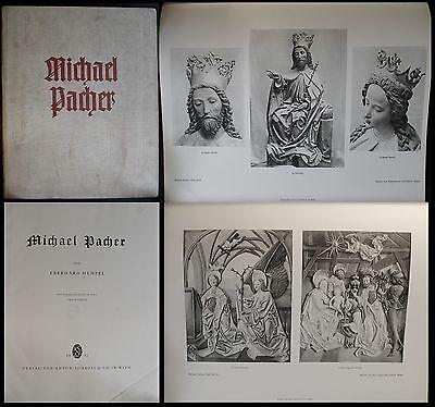 Hempel Michael Pacher 1931 Fachbuch Kunst Malerei Plastik Spätgotik Bilder xz