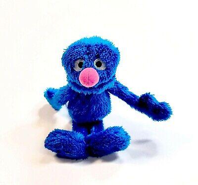 "Sesame Street Hasbro Grover Plush 10"" Soft Eyes Stuffed Animal Toy Blue 2013"