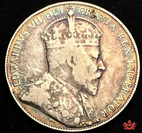 1904 Canada 50 Cents - F/VF - Lot#721