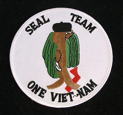 "VINTAGE ORIGINAL SCUBA DIVING VIETNAM US ATLANTIC FLEET EMBROIDERED 4 1//4/"" Patch"