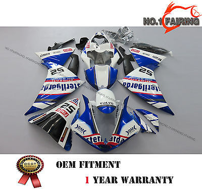 ABS Injection Molded Bule White Fairing kit Bodywork for YAMAHA YZF R1 2009-2011 for sale  Shipping to Canada