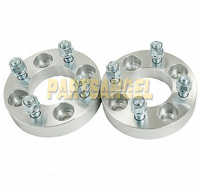"(2) 2"" (1"" per side) Wheel Spacers 4x4 to 4x4 for EZ GO EZGO Club Car Golf Cart"