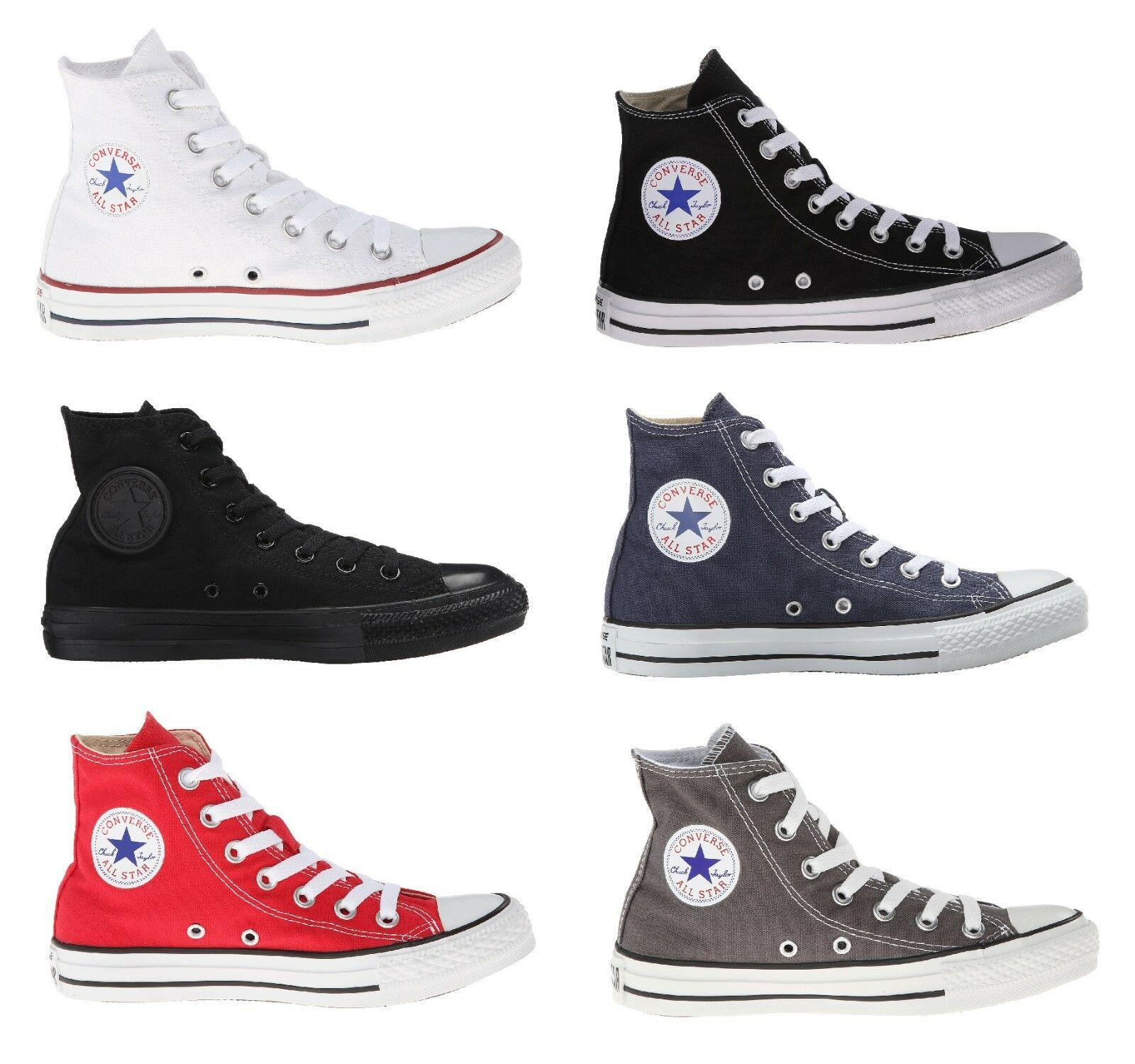 Converse All Star Chuck Taylor Shoes Canvas Hi Top Men Sneakers