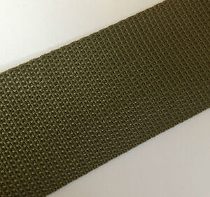 POLYPROPYLENE WEBBING / STRAPPING - 20MM / 25MM / 38MM / 50MM - VARIOUS COLOURS