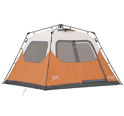 Coleman Outdoor Camping 6 Person Family Waterproof Instant Tent | 10' x 9'