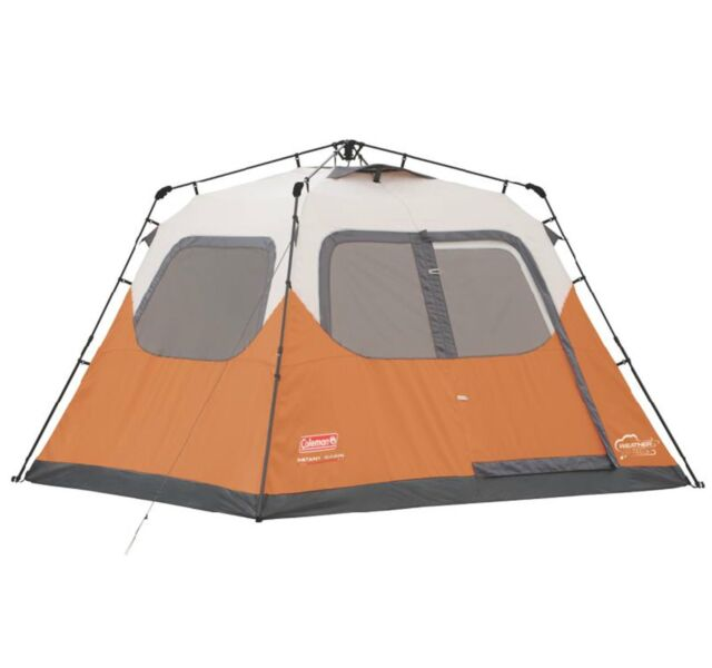 Coleman Outdoor 6 Person 10u0027 x 9u0027 Easy Set Up Family C&ing Instant Pop  sc 1 st  eBay & Coleman Outdoor 10u0027 X 9u0027 Camping 6 Person Instant Tent ...