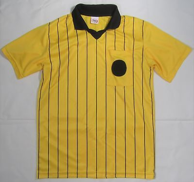 fc8bd38e918 HIGH FIVE ~ Polyester Soccer Referee Jersey ~ Men s Small - Yellow