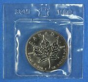 1990 Canadian Silver Maple Leaf