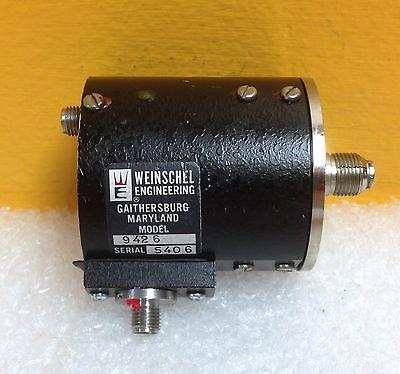 Weinschel 9426 320 To 800 Mhz 1 Watt Sma F-f 50 Ohm Attenuator