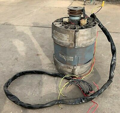 Washer Motor 208-240v 60hz 3ph For Continental Girbau Sn 1021466a99 Used
