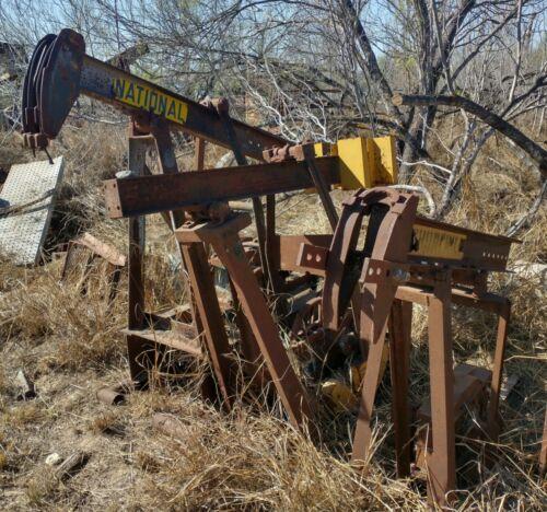 3 Small Used Oilfield Pump Jacks Pumping Unit