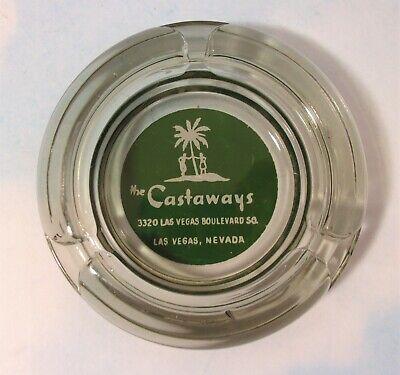 Vintage Casino Ashtray Castaways Las Vegas Advertising Howard Hughes