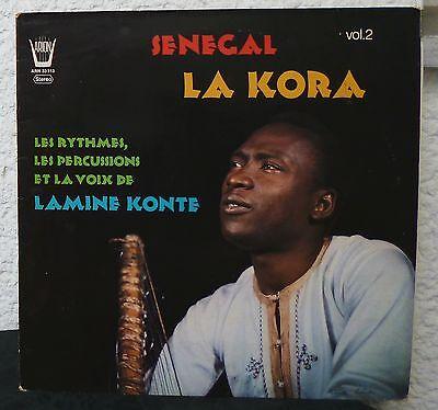 LAMINE KONTE  Senegal La Kora Volume 2     Arion LP