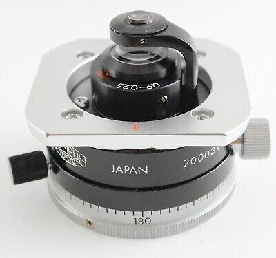 Olympus Ch Ch2 Bh Vanox Ah 0.9 Pol Flip Top Swing Polarizer Condenser Microscope