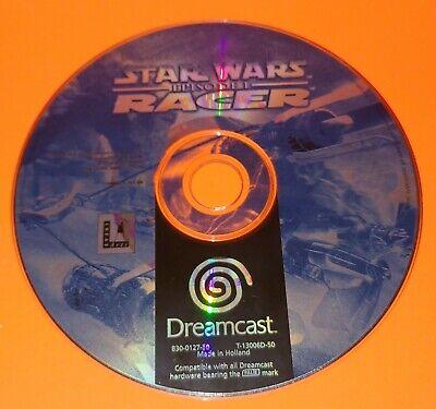 Star Wars Episode 1 Racer Episode I SEGA DREAMCAST LucasArts DISC ONLY Fast Post