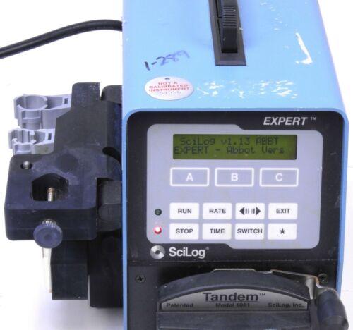 Scilog Tandem1081 Expert peristaltic pump auto Filtration System