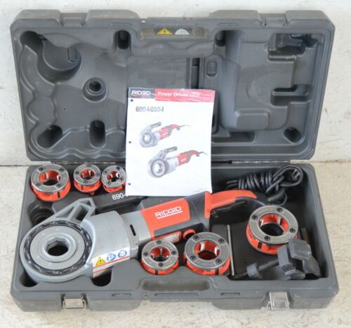 "Ridgid 690-1 Electric Pipe Threading Machine 1/2""-2"" 110V"