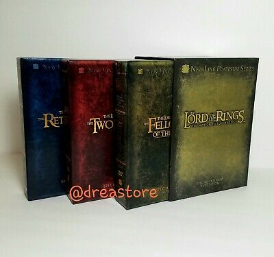 The Lord Of The Rings The Motion Picture Trilogy Special Extended 12 DVD Edition