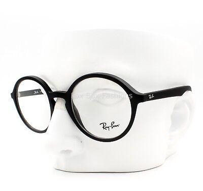 5a398030a64 Ray-Ban RB 7075 5364 Round Eyeglasses Optical Frames Glasses Matte Black ~  49mm