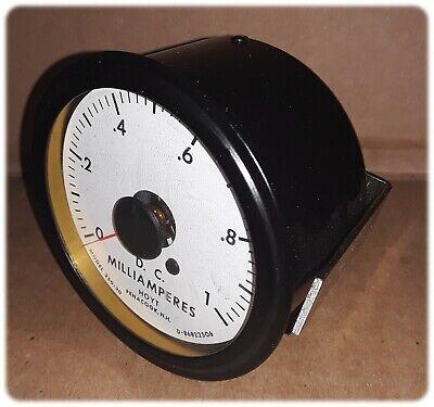 Meter Panel Dc Analog Dm Milliameres 0-1 250 Degree Series 3