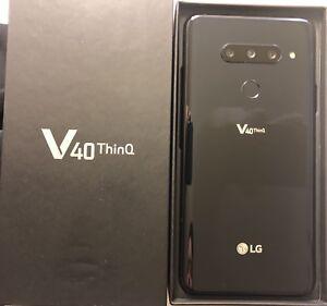 LG V40 ThinQ - 64GB - Black (BNIB)