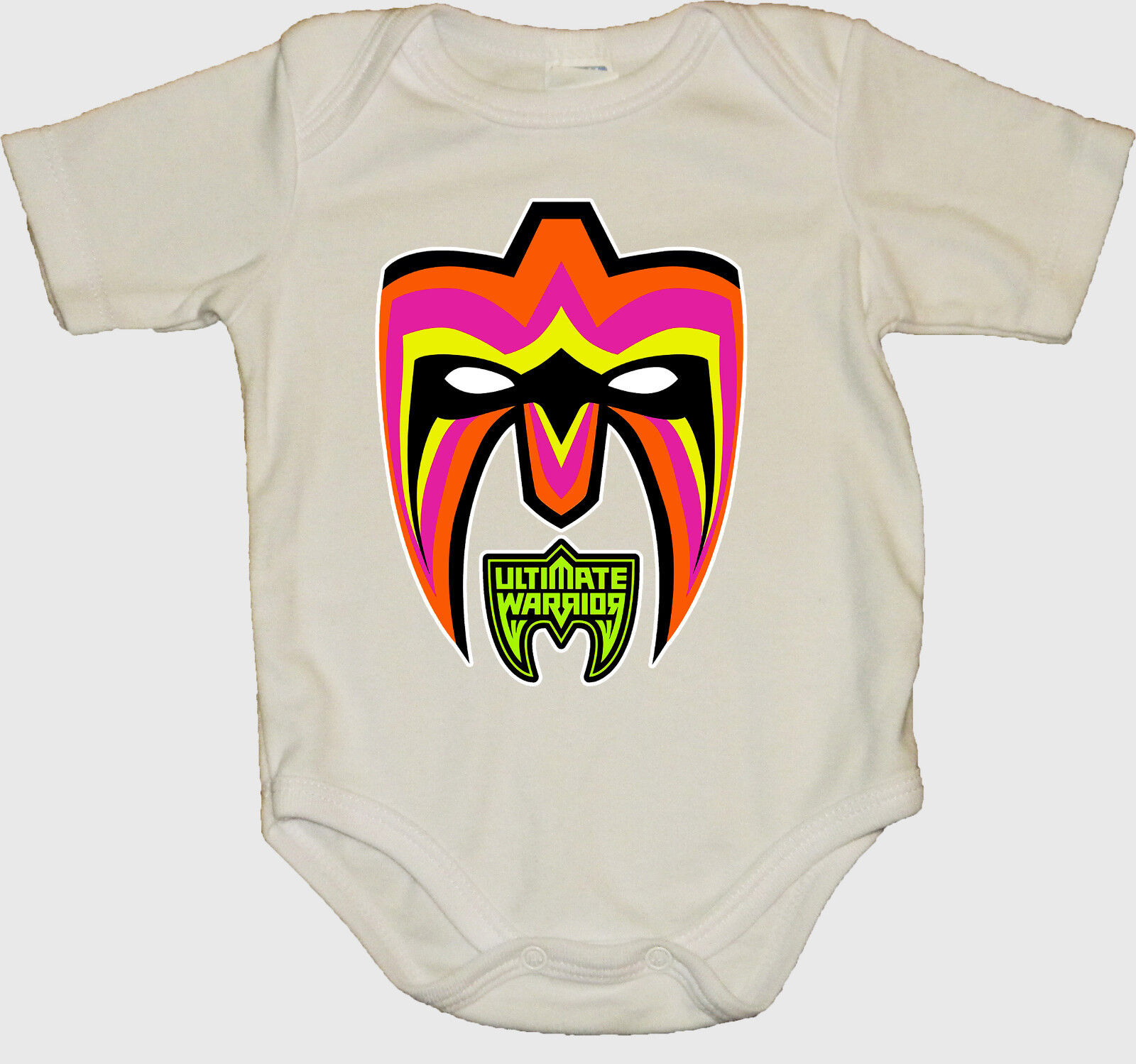 Ultimate Warrior Wwe Baby Creeper Bodysuits