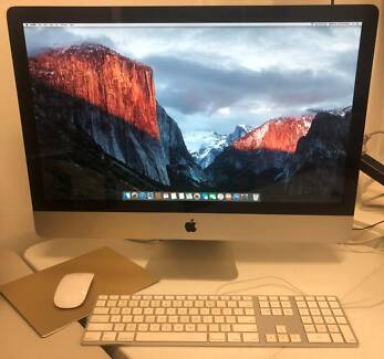 "Apple iMac 27""  computer. Sydney City Inner Sydney Preview"