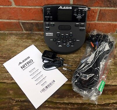 Alesis DM7X Nitro Percussion Module with Cable Harness, Power Adapter & Manual
