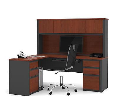 Bestar Prestige L-shaped Workstation -
