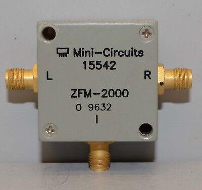 Mini-circuits Rf Mixer Zfm-2000