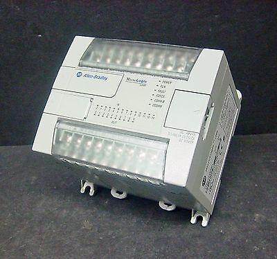 Allen Bradley 1762-l24bxbr Ser C Rev 9 Frn 12 Micrologix 1200 Controller Cpu Plc