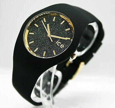 ✅ Ice Watch Uhr Damenuhr Glitter Schwarz Unisex 001356  ✅ (Ice Uhren)