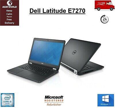 Dell Latitude E7270 Core i5-6300u 2.40GHz 8GB RAM 256GB SSD HDMI Webcam WIN 10
