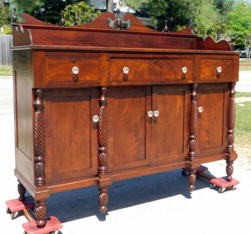 19th Century Mahogany Buffet Sideboard