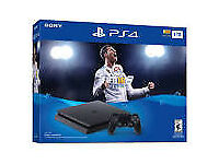 PS4 SLIM 1TB FIFA 18 &, GTA 5