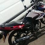 Sinnis125 motorbike