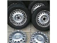 Ford Transit connect wheels tyres and trims